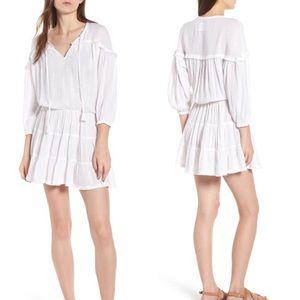 RAILS $178 NWOT Sansa Kaftan Beach Dress White XS